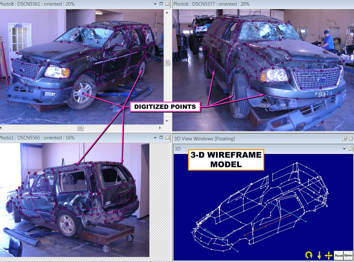 Forensic Analysis - Photography | Collision Research & Analysis, Inc.